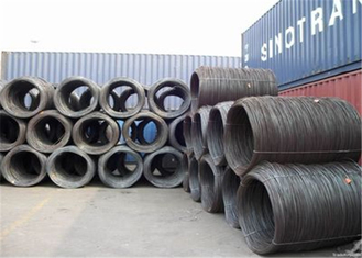 Low Carbon Steel Wire Rod 5.5mm 6.5mm SAE 1006 SAE1008 SAE1018 Welding Wire Rod